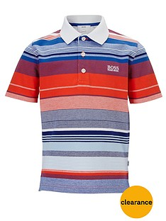 boss-boys-short-sleeve-stripe-polo-top