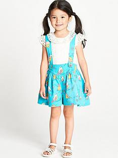 ladybird-toddler-girls-poplin-bird-print-shorts-and-braces-set