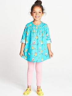 ladybird-toddler-girls-poplin-bird-tunic-and-leggings