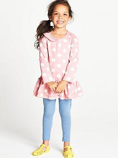 ladybird-toddler-girls-pretty-frill-spot-tunic-and-leggings-set