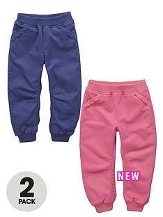 ladybird-toddler-girls-frill-trim-rib-waist-pull-on-bottoms-2-pack