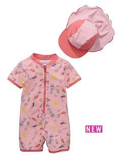 ladybird-toddler-girls-beach-girl-sunsafe-and-hat