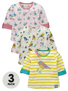 ladybird-toddler-girls-long-sleeved-birdfloral-tops-3-pack