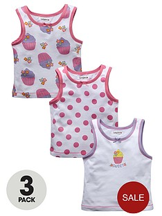 ladybird-toddler-girls-cupcake-vests-3-pack