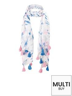 girls-tie-dye-tassel-scarf