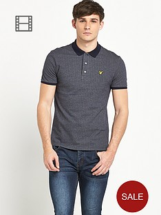 lyle-scott-mens-herringbone-polo-shirt
