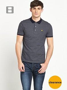 lyle-scott-mens-herringbone-polo-shirt