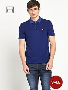lyle-scott-mens-space-dye-collar-polo-shirt