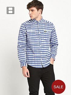 lyle-scott-mens-hand-drawn-check-shirt