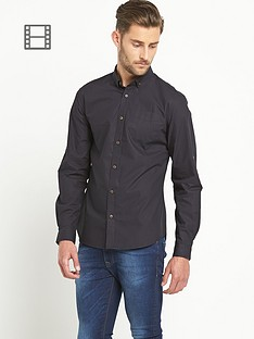 goodsouls-mens-long-sleeve-poplin-shirt-black
