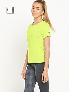adidas-climachill-t-shirt-yellow