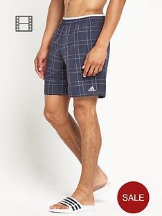 adidas-mens-check-mid-length-shorts
