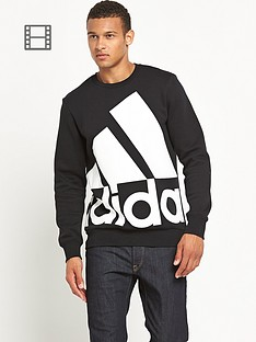 adidas-mens-logo-crew-neck-sweat