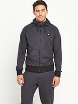 AW77 Shoebox Mens Full Zip Hooded Top