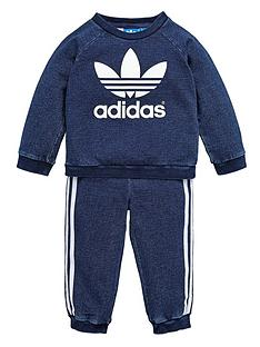 adidas-originals-baby-boy-denim-crew-neck-suit