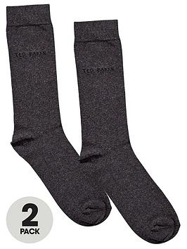 ted-baker-mens-plain-socks-2-pack