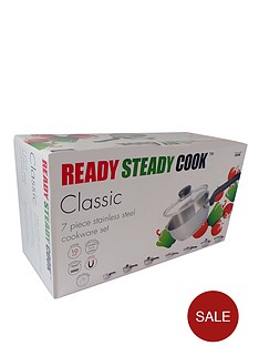 ready-steady-cook-seven-piece-classic-cookware-set
