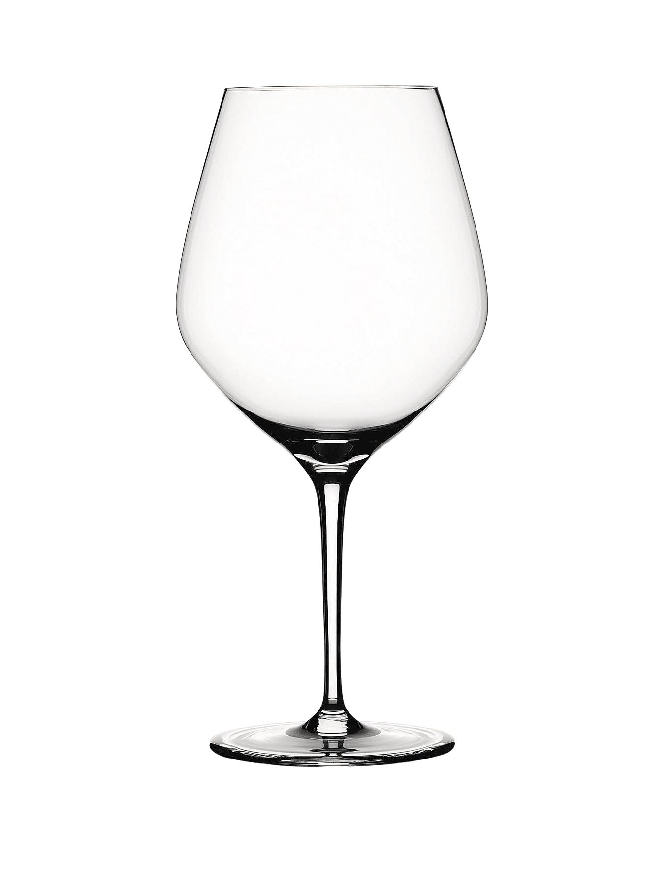 SPIEGELAU Authentis Burgundy Glass - Set of 2