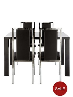 atlantic-gloss-fixed-top-table-4-chairs-buy-and-save