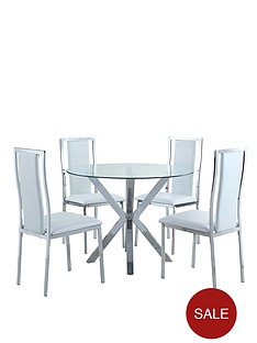 100-cm-chopstick-chrome-and-glass-round-dining-table-4-atlantic-chairs-clearwhite-buy-and-save
