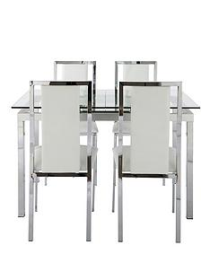 glide-extending-glass-table-plus-4-atlantic-chairs-clear