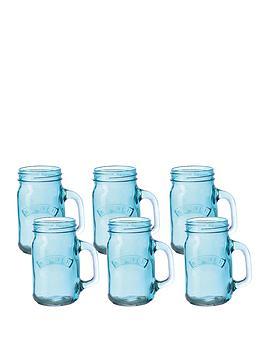 kilner-set-of-6-blue-glass-handled-jars