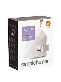 simplehuman-bin-liners-h-30-35-litre-50-pack