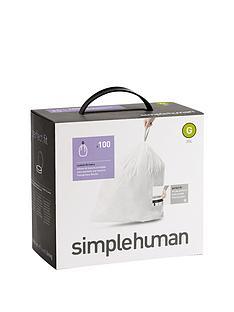 simplehuman-bin-liners-g-30-litre-100-pack