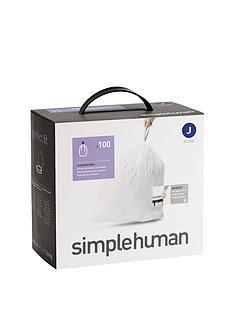 simplehuman-bin-liners-j-30-40-litre-100-pack