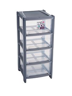 wham-4-drawer-tower-storage-unit-graphite
