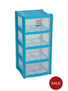 wham-4-drawer-tower-storage-unit-blue