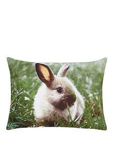 bunny-velvet-cushion