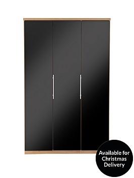 prague-glass-3-door-wardrobe