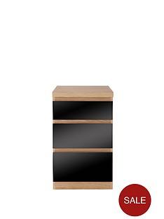 prague-glass-3-drawer-bedside-cabinet