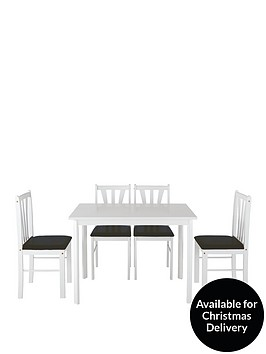 martino-111-cm-dining-table-4-chairs