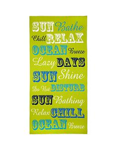 sun-bathe-beach-towel