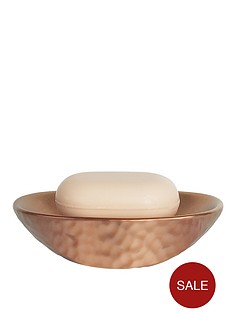 spirella-darwin-hammered-soap-dish-copper