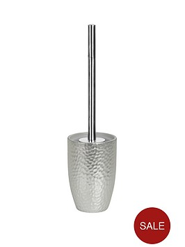 spirella-darwin-hammered-toilet-brush-silver