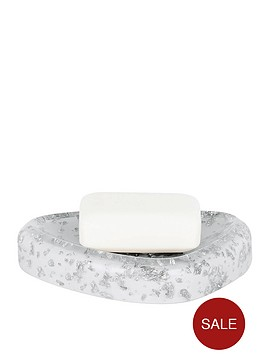 spirella-etna-glitter-white-soap-dish