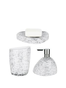 spirella-etna-set-of-3-glitter-white-bathroom-accessories