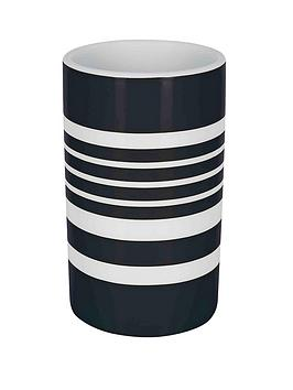 spirella-tubes-stripes-tumbler-black