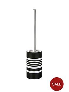 spirella-tubes-stripes-toilet-brush-black