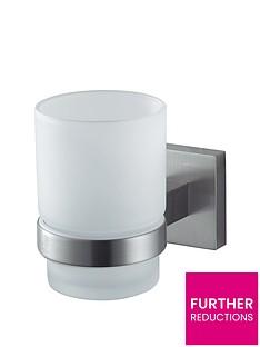 aqualux-haceka-mezzo-tec-glass-holder-chrome