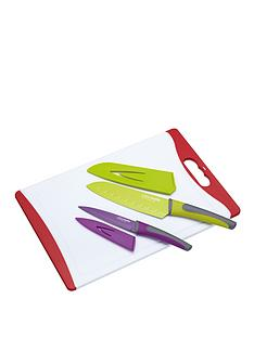 colourworks-3-piece-knife-and-chopping-board-set