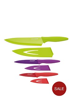 colourworks-3-piece-soft-grip-knife-set