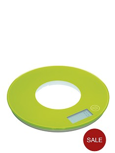 colourworks-electronic-kitchen-scales-green