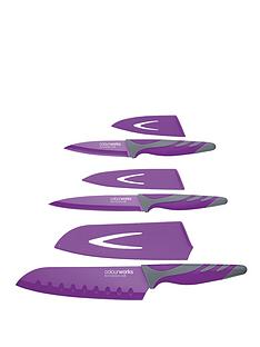 colourworks-3-piece-knife-starter-set-purple