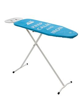 sabichi-essential-ironing-board-with-spare-cover-blue