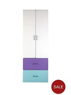 kidspace-geo-2-door-2-drawer-wardrobe