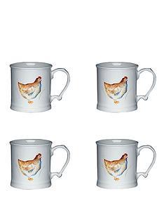 kitchen-craft-hen-house-set-of-4-ceramic-mugs